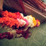 Garlands for the temple
