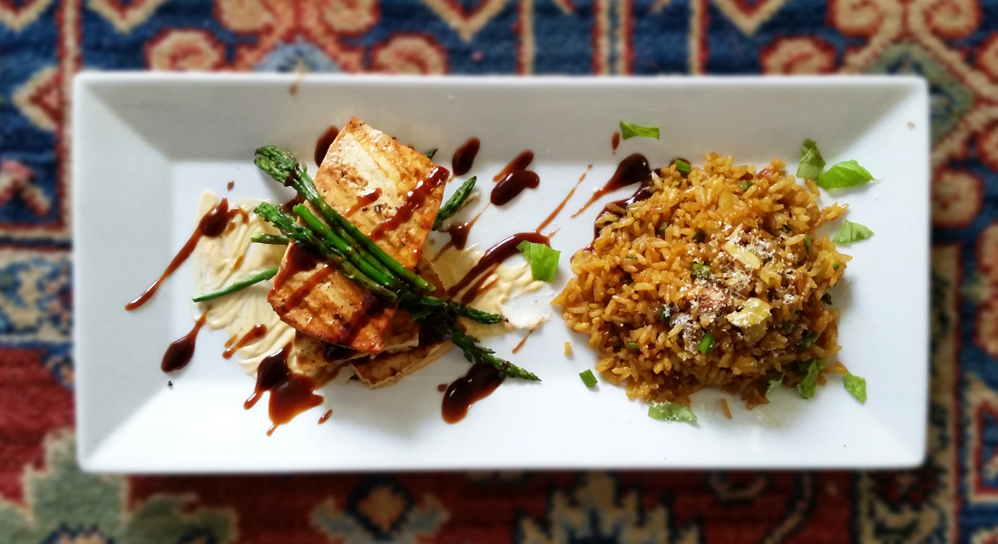 Grilled-Tofu-&-Coconut-Rice