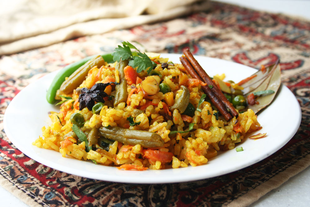 The Vegetarian Blog|Royal Indian Biryani Rice
