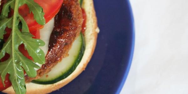 Vegan Gluten Free Quinoa Burger